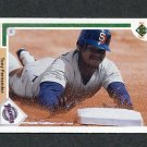 1991 Upper Deck Baseball #754 Tony Fernandez - San Diego Padres