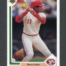 1991 Upper Deck Baseball #353 Barry Larkin - Cincinnati Reds