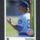 1989 Upper Deck Baseball #797 Paul Kilgus - Chicago Cubs
