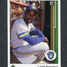 1989 Upper Deck Baseball #788 LaVel Freeman - Milwaukee Brewers