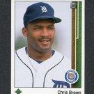 1989 Upper Deck Baseball #784 Chris Brown - Detroit Tigers