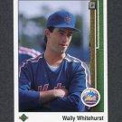 1989 Upper Deck Baseball #737 Wally Whitehurst RC - New York Mets