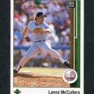 1989 Upper Deck Baseball #710 Lance McCullers - New York Yankees