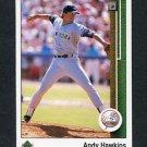 1989 Upper Deck Baseball #708 Andy Hawkins - New York Yankees