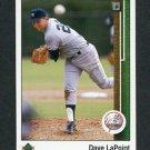 1989 Upper Deck Baseball #706 Dave LaPoint - New York Yankees