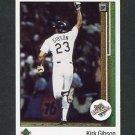 1989 Upper Deck Baseball #666 Kirk Gibson WS - Los Angeles Dodgers