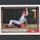 1992 Topps Baseball #773 Hal Morris - Cincinnati Reds