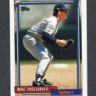 1992 Topps Baseball #721 Mike Pagliarulo - Minnesota Twins