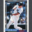 1992 Topps Baseball #710 Kevin Maas - New York Yankees