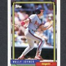 1992 Topps Baseball #629 Wally Joyner - California Angels