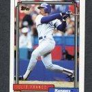 1992 Topps Baseball #490 Julio Franco - Texas Rangers