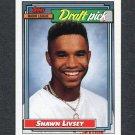 1992 Topps Baseball #124 Shawn Livsey RC - Houston Astros