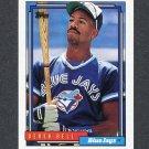 1992 Topps Baseball #121 Derek Bell - Toronto Blue Jays