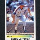 1990 Panini Stickers Baseball #298 Gregg Jefferies - New York Mets