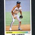1990 Panini Stickers Baseball #260 Ken Caminiti - Houston Astros