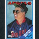 1988 Topps Traded Baseball #097T Cookie Rojas MG - California Angels