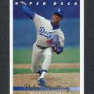 1993 Upper Deck Baseball #324 Pedro Martinez - Los Angeles Dodgers Ex