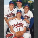 1993 Upper Deck Baseball #472 Greg Maddux / Steve Avery / John Smoltz / Tom Glavine - Atlanta Braves