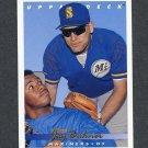 1993 Upper Deck Baseball #224 Jay Buhner (Ken Griffey Jr) - Seattle Mariners
