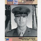 1991 Desert Storm Pro Set #087 Brigadier General Richard I. Neal