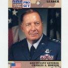 1991 Desert Storm Pro Set #083 Lieutenant General Charles A. Horner