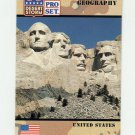 1991 Desert Storm Pro Set #063 United States of America