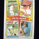 1986 Topps Baseball #005 Pete Rose Special: '75-'78 - Cincinnati Reds