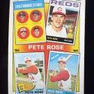 1986 Topps Baseball #002 Pete Rose Special: '63-'66 - Cincinnati Reds