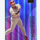 2000 Skybox Baseball Preeminence #P10 Ivan Rodriguez - Texas Rangers