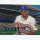 2000 Skybox Baseball #221 Mark Quinn - Kansas City Royals