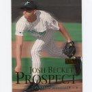 2000 Skybox Baseball #214 Josh Beckett - Florida Marlins