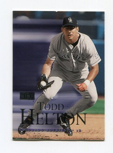 2000 Skybox Baseball #178 Todd Helton - Colorado Rockies