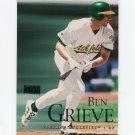 2000 Skybox Baseball #112 Ben Grieve - Oakland Athletics