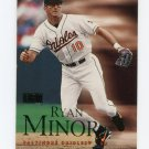 2000 Skybox Baseball #082 Ryan Minor - Baltimore Orioles
