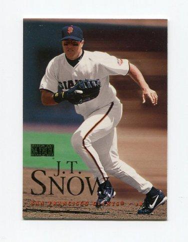 2000 Skybox Baseball #055 J.T. Snow - San Francisco Giants