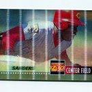1995 Sportflix Baseball #077 Deion Sanders - Cincinnati Reds