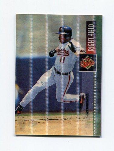 1995 Sportflix Baseball #002 Jeffrey Hammonds - Baltimore Orioles