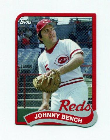 2014 Topps Baseball '89 Topps Die Cut Minis #TM38 Johnny Bench - Cincinnati Reds