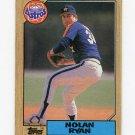 1987 Topps Baseball #757 Nolan Ryan - Houston Astros Ex