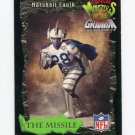 1994 Coke Monsters of the Gridiron Football #13 Marshall Faulk - Indianapolis Colts G