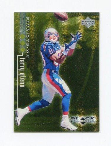 1998 Black Diamond Rookies Triple #50 Terry Glenn - New England Patriots /1500