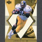 1998 Black Diamond Rookies White Onyx #ON03 Jerome Bettis - Pittsburgh Steelers /2250
