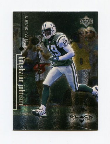1998 Black Diamond Rookies Football #060 Keyshawn Johnson - New York Jets