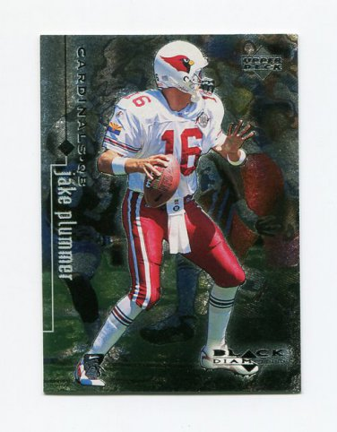 1998 Black Diamond Rookies Football #001 Jake Plummer - Arizona Cardinals
