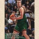 1996-97 Fleer Basketball #252 Jim McIlvaine - Seattle Supersonics