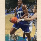 1996-97 Fleer Basketball #162 Anthony Mason - Charlotte Hornets