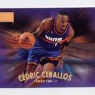 1997-98 Skybox Premium Basketball #013 Cedric Ceballos - Phoenix Suns