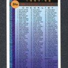 1997-98 Topps Basketball #110 Checklist