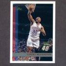 1997-98 Topps Basketball #028 Clarence Weatherspoon - Philadelphia 76ers