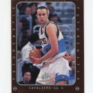 1997-98 SP Authentic Basketball #170 Zydrunas Ilgauskas FW - Cleveland Cavaliers